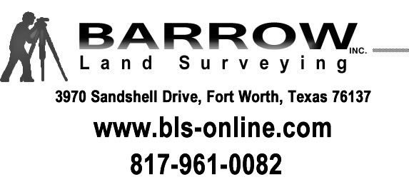 North Texas Land Surverying specializing in home construction layout | www.bls-online.com